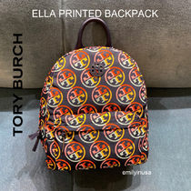 TORY BURCH★軽いナイロン製 ELLA PRINTED BACKPACK