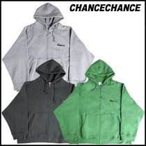 【CHANCECHANCE】CHANCE ZIP-UP HOODIE 起毛 ★安全配送★