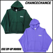 【CHANCECHANCE】 CEC ZIP-UP HOODIE / 起毛