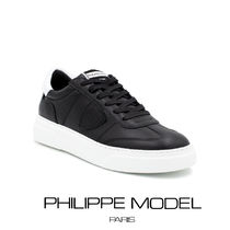 【PHILLIPE MODEL】BALU V011(Black) メンズスニーカー