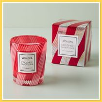 Anthropologie Voluspa Candy Cane Glass Candle キャンドル