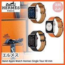 エルメス*直営店*Band Apple Watch Hermes Single Tour 40 mm*