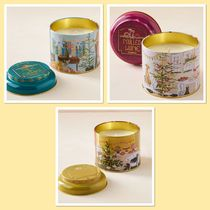 Anthropologie Holiday Tin Candle Set キャンドル3個セット