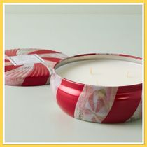 Anthropologie Voluspa Candy Cane Candle Tin キャンドル