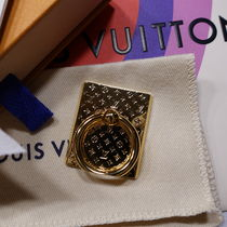 【LOUIS VUITTON】*Nanogram*ロゴスマホリング☆Gold×Silver☆