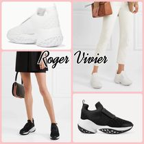 【Roger Vivier】 VIV RUN NEOPRENE☆LEATHER スニーカー