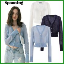 ●SPOONING● WHOLE-GARMENT MOHAIR CARDIGAN 3カラー
