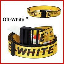 ◆Off-White◆20SS Yellow Industrial Belt◆正規品◆