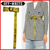 ◆Off-White◆20SS Yellow Mini Industrial Belt◆正規品◆