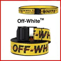 ◆Off-White◆20SS Yellow Mini Industrial 2.5 Belt◆正規品◆