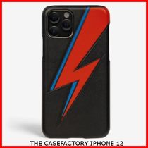 関税送料込☆THE CASEFACTORY☆IPHONE 12 BOWIE LIGHTNING BLACK