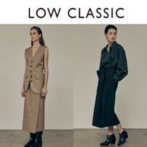 LOW CLASSIC☆20FW PLEATS WRAP SKIRT-フラップスカート