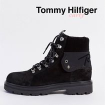 【Tommy Hilfiger】スエードレースアップブーツ 送料・関税込み