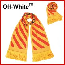 ◆Off-White◆イエローアローマフラー◆正規品◆