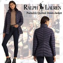 NEW!!【Polo Ralph Lauren】Packable Quilted Down Jacket-Navy