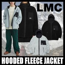 [LMC] HOODED FLEECE JACKET
