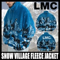 [LMC] SNOW VILLAGE FLEECE JACKET