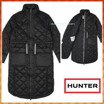 HUNTER★REFINED QUILTED ロング ジャケット (送料&関税込)