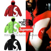 FW20 Supreme The North Face S Logo Hooded Fleece Jacket