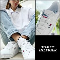 【Tommy Hilfiger】Jeans cup sole sneaker レザー スニーカー♪
