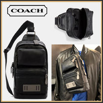 COACH☆Rider Pack In Signature Canvas ボディバッグ☆送料込