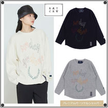 ROMANTIC CROWNのSUNDAY SYNDROME SCRIBBLE LOGO KNITWEAR 全3色