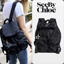 ★即発★【SEE BY CHLOE】Joyrider Large Nylon リュック