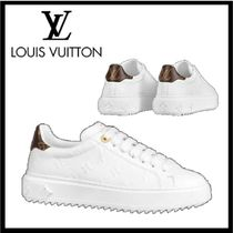 【LOUIS VUITTON】エンボスモノグラムスニーカー TIME OUT