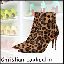 ★Christian Louboutin★So Kate 85mm ブーティー ヒョウ柄