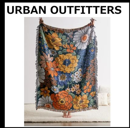 Urban Outfitters ブランケット 【URBAN OUTFITTERS】Valley Cruise Midnight Bloomブランケット
