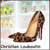 ★Christian Louboutin★So Kate 120mm パンプス ヒョウ柄