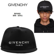 GIVENCHY(ジバンシィ) フラット ピーク ロゴ キャップ