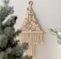 【trendeco】Macrame knitting tapestry wall christmas tree
