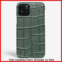 関税送料込☆THE CASEFACTORY☆IPHONE 12 PRO CROCODILE TEAL