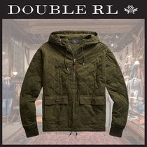 ☆ RRL ☆ Quilted Cotton Jersey フーディ ☆