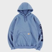 大人気★Carhartt★ HOODED LOGO SWEATSHIRT /French blue