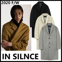 ★IN SILENCE★【限定販売】UNISEX SOLIST CASHEMERE COAT_4色