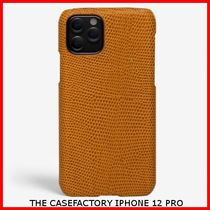 関税送料込☆THE CASEFACTORY☆IPHONE 12 PRO LIZARD OCRA