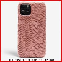関税送料込☆THE CASEFACTORY☆IPHONE 12 PRO LIZARD ANTICO