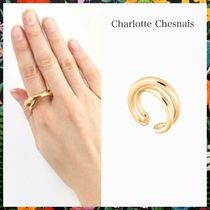 Charlotte Chesnais☆ Initial Auriculaire Ring vermeil