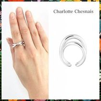 Charlotte Chesnais☆ Initial Auriculaire Ring Silver