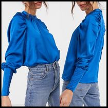 ASOS Vero Moda blouse with gathered sleeve