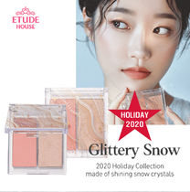 ETUDE HOUSEホリデー限定☆GLITTERY SNOW FACE PALETTE
