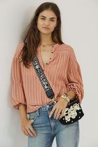 セール☆関税込☆Anthropologie☆Romy Textured Blouse