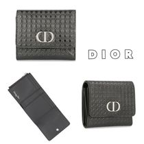 【DIOR】30 MONTAIGNE☆CDロゴ×ロータス ウォレット◆追跡付!