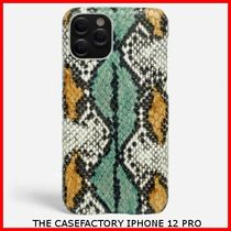 関税送料込☆THE CASEFACTORY☆IPHONE 12 PRO PYTHON AQUA/OCRA