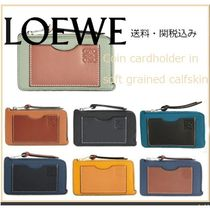 LOEWE: Coin Cardholder soft grained calfskin