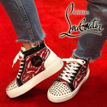 Louboutin ルブタン Super Lou Spikes Woman Orlato スニーカー