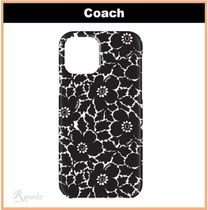 【COACH】iPhone 12 and iPhone 12 Pro◆花柄保護ケース