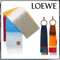LOEWE☆Stripe scarf in mohair and wool☆マフラー☆送込